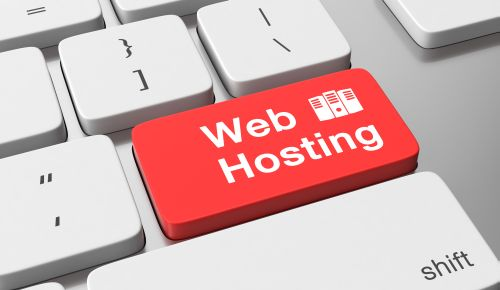 Web hosting text on keyboard button